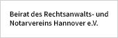 Beirat des Rechtsanwalts- und Notarvereins Hannover e.V. - Dr. Papsch & Collegen
